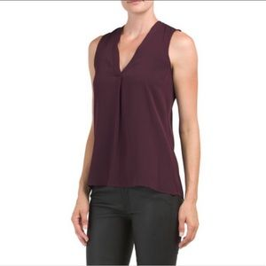 "THEORY ""Jamissa"" silk top"